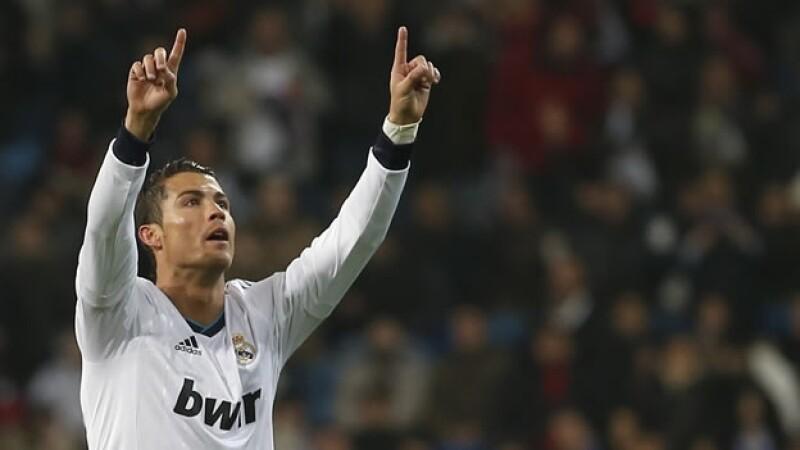 Cristiano Ronaldo celebra una anotación