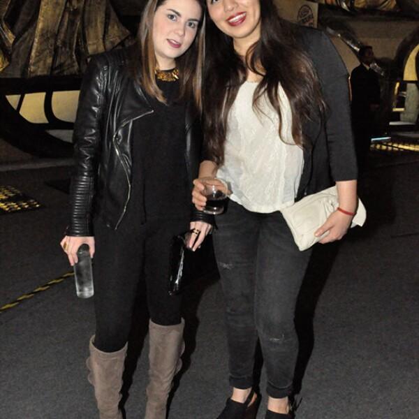 Sabrina Hidalgo y Ana Paola Martínez