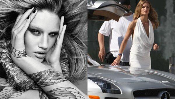 La guapa modelo de Victoria´s Secret Rosie Huntington recientemente probo suerte en el mundo del cine participando en la película Transformers 3.