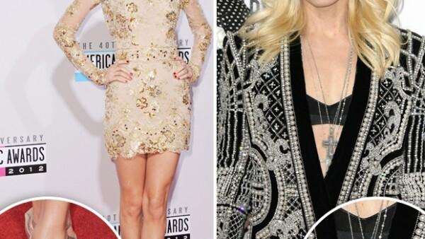 Taylor Swift, Gwen Stefani y Stacy Kleiber fueron algunas de las celebridades que mejor se vistieron para la entrega de premios de lo mejor de la industria musical estadounidense.