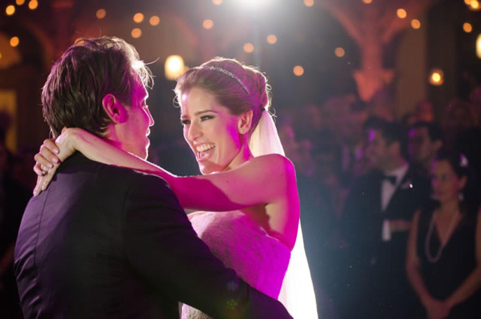 El maquillaje de la novia fue realizado por Daniel Lezama.