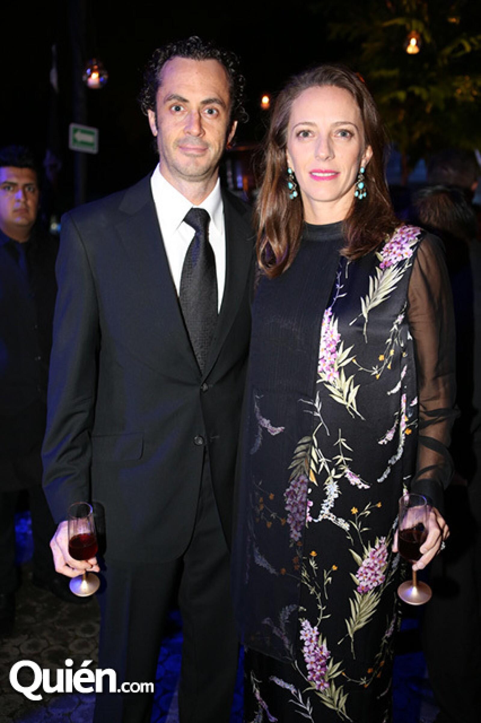 Michel Jordain Jr y Concha Orvañanos