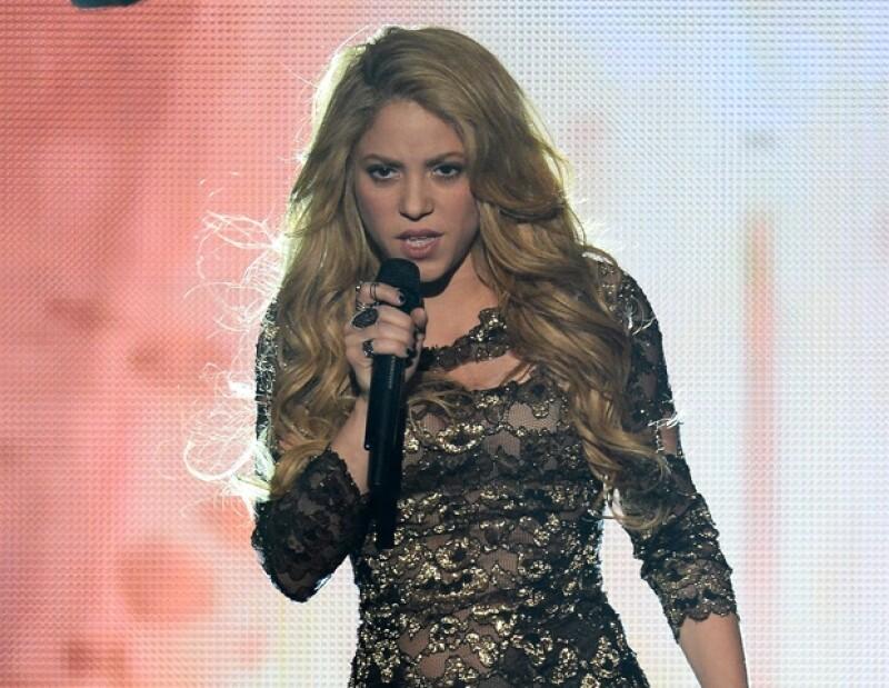 Shakira es una entusiasta del Mundial de Futbol.