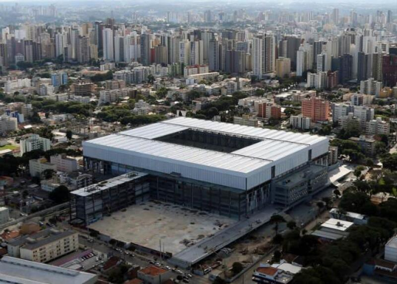 Estadio Arena da Baixada, en Curitiba, Brasil