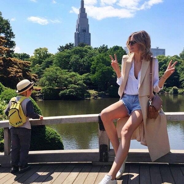 Una de las piezas más vistas en 2015 fueron los chalecos largos como lo hizo Jessica Stein de Tuula Vintage en el verano.