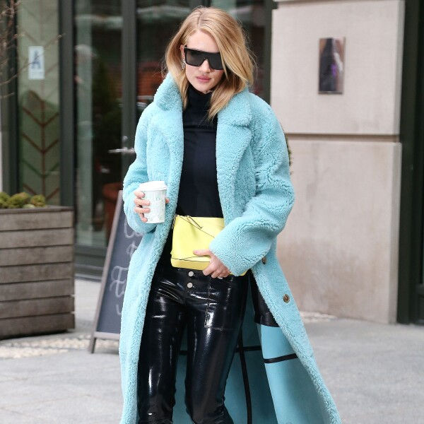 Rosie Huntington-Whiteley out and about, New York Fashion Week, USA - 09 Feb 2018