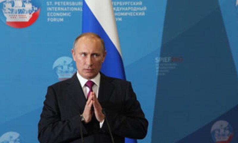 El presidente ruso, Vladimir Putin encabeza la celebración anual a la que se compara con la realizada en Davos, Suiza. (Foto: Getty Images)