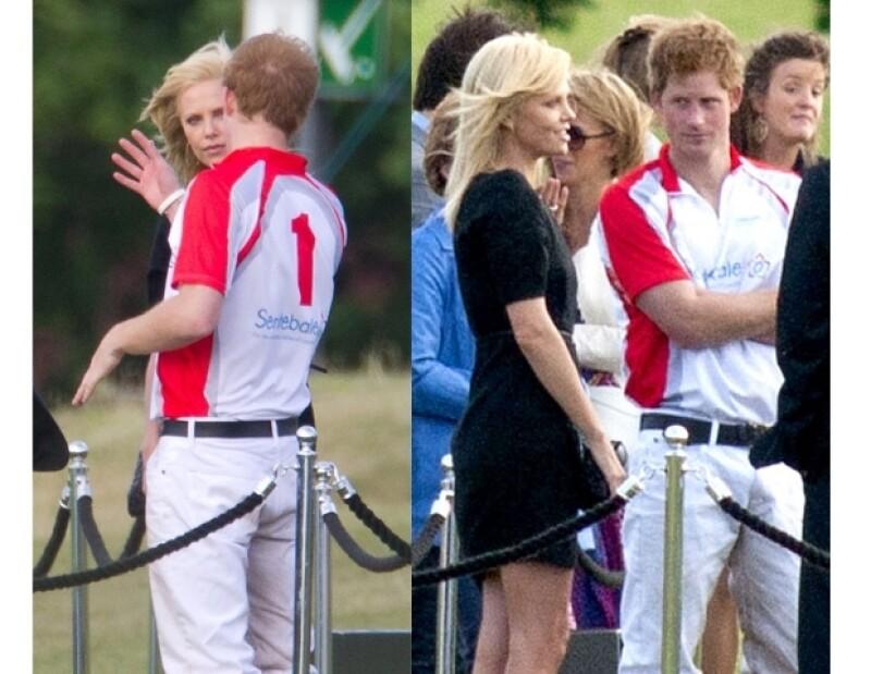 Charlize Theron conoció a Enrique y quedó encantada.