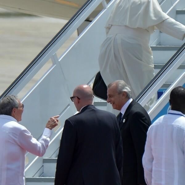 papa francisco cuba gale