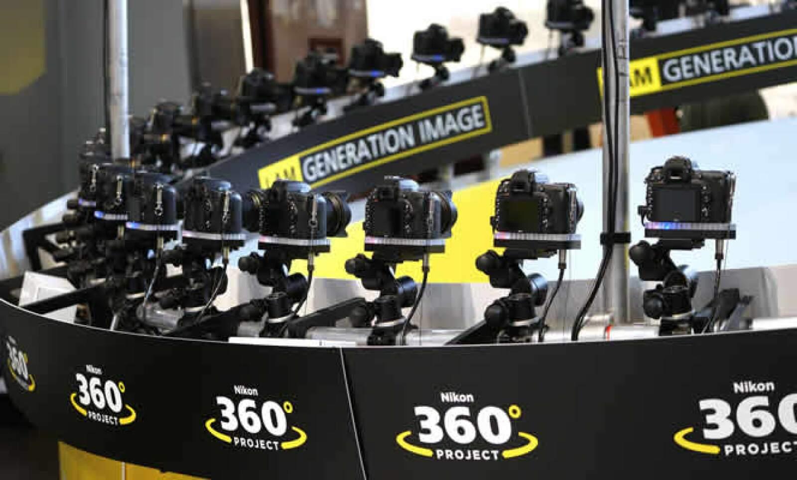 Nikon ofrece con esta cámara fotografías con ángulos de 360 grados.