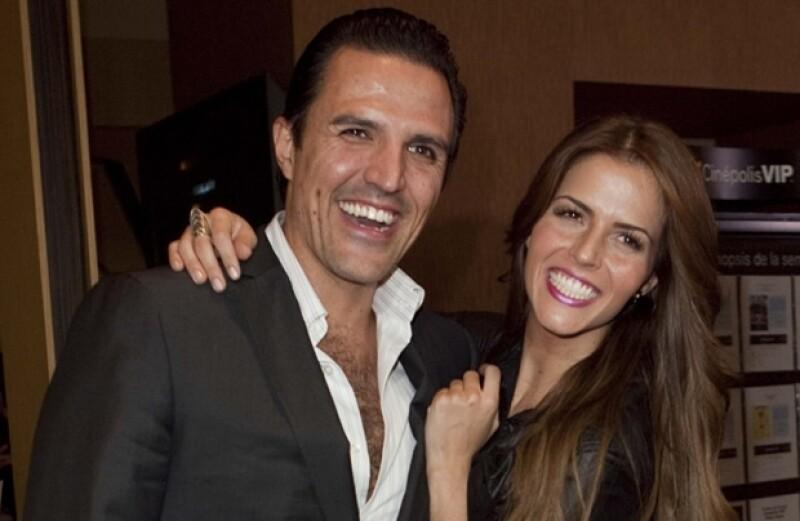 Billy y Claudia formalizaron su relación en diciembre de 2011.