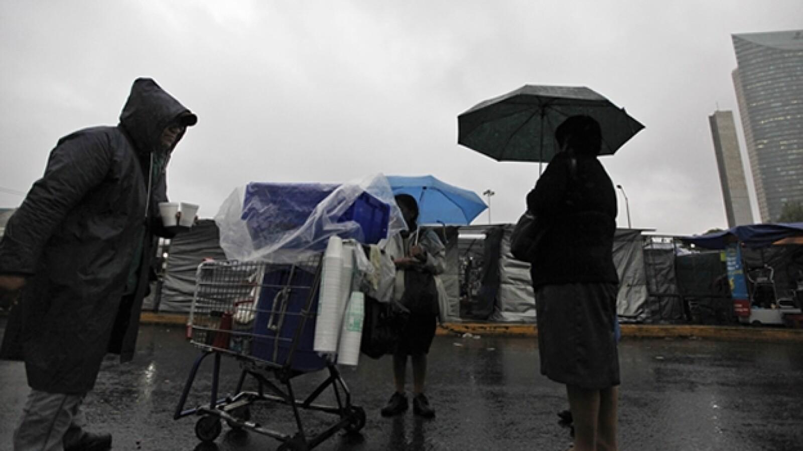 lluvia Barry DF