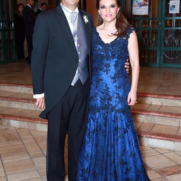 Carlos Kalifa y Martha Ruibal de Kalifa