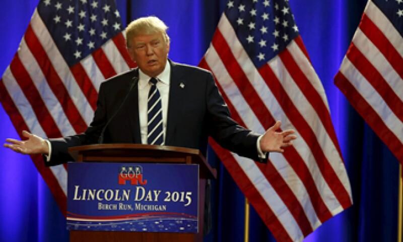 Donald Trump apenas durmió tras del debate, siguió despotricando contra la conductora Megyn Kelly. (Foto: Reuters )
