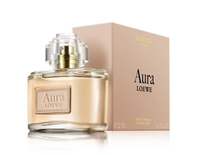 El perfume Aura Floral de Loewe es la versión más fresca de esta colección.