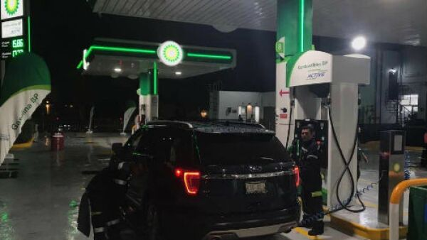 BP gasolinera en M�xico