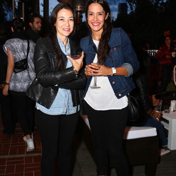 Martha González y Mónica Cervantes
