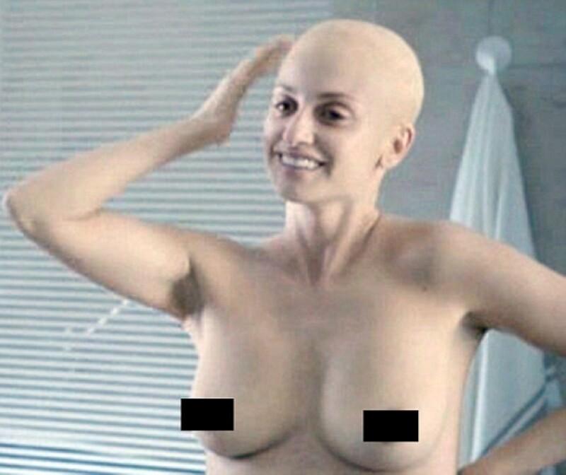 La actriz se enfrentó a uno de los retos más grandes al interpretar a una mujer con cáncer de mama.