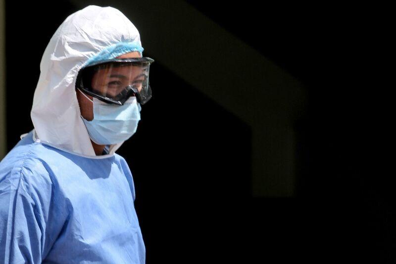 Doctora del Hospital Ajusco Medio en él área de urgencias médicas.