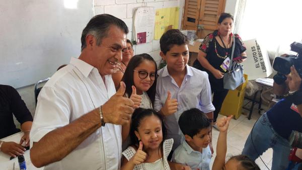 El resumen de la jornada electoral de Jaime Rodríguez 'El Bronco'