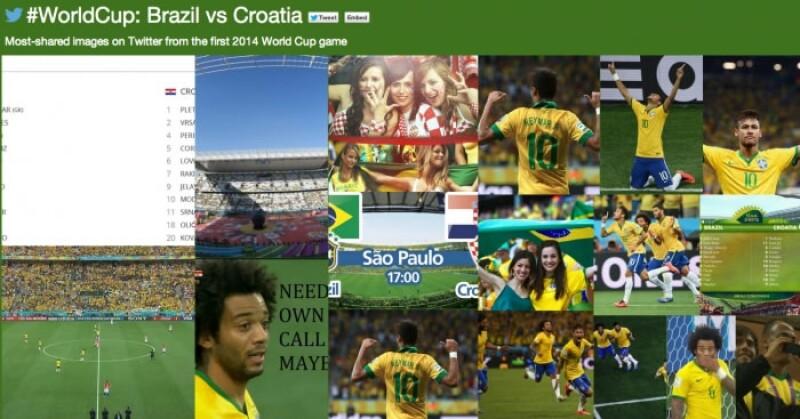 Twitter Mundial Brasil