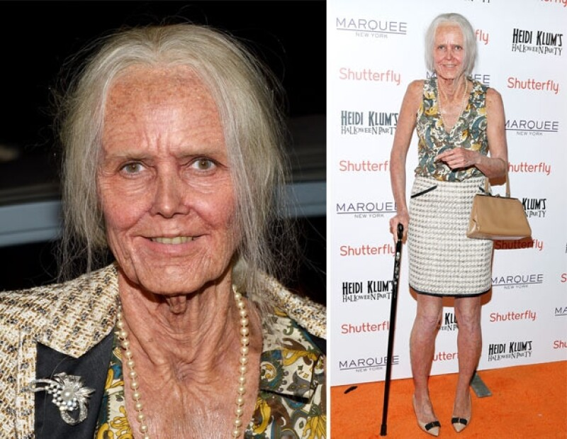 Heidi Klum decidió este año ser una viejita.