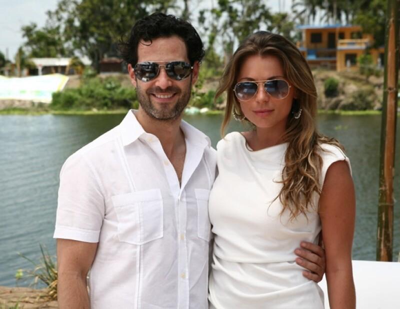 Emiliano ha apoyado en todo momento a Ludwika en su carrera como actriz.