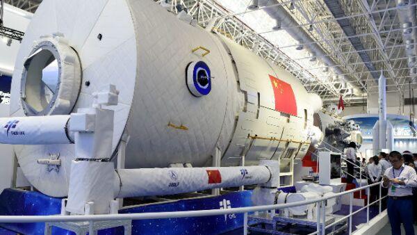 M�dulo central de la Estaci�n Espacial China