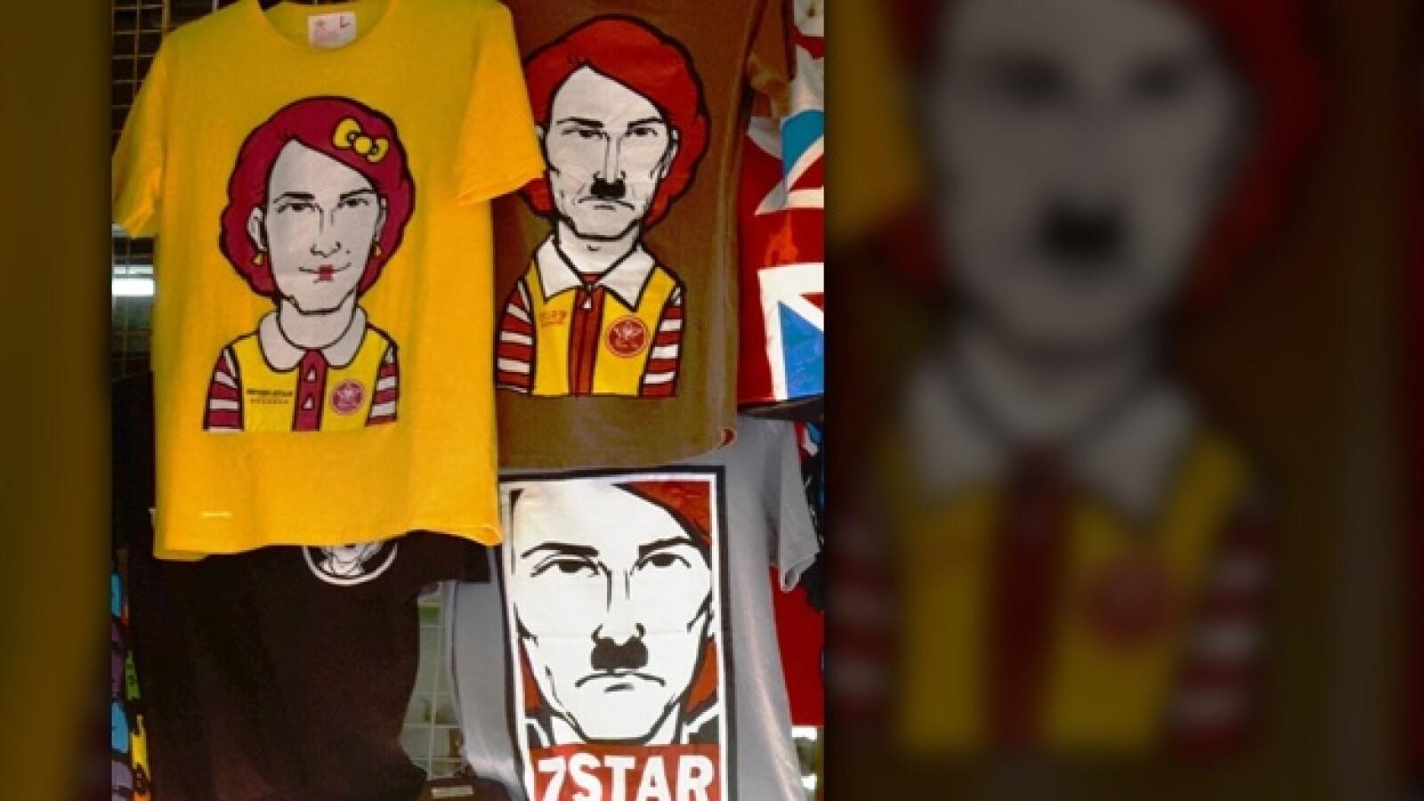 nazismo parodia Hitler Ronald McDonals
