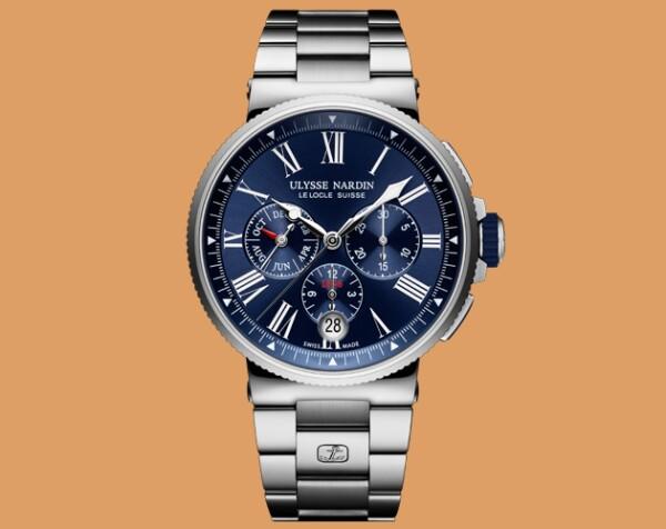 Marine Chronometer Annual Calendar