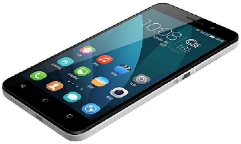 """El equipo tiene una pantalla de 5.5"""", cámara de 13MP, y cuenta con sistema operativo Android 4.4. (Foto: Cortesía Honor )"""