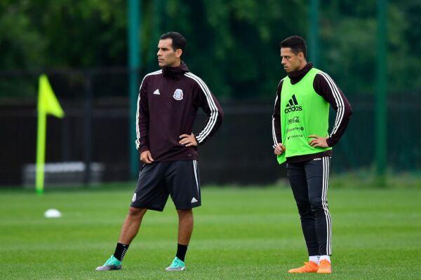 Rafael y Chicharito
