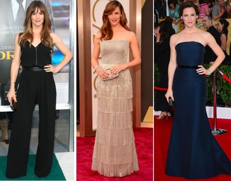 La actriz de 41 años de edad, esposa de uno de los galanes del cine Ben Affleck y madre de tres es un ícono de la mujer perfecta.