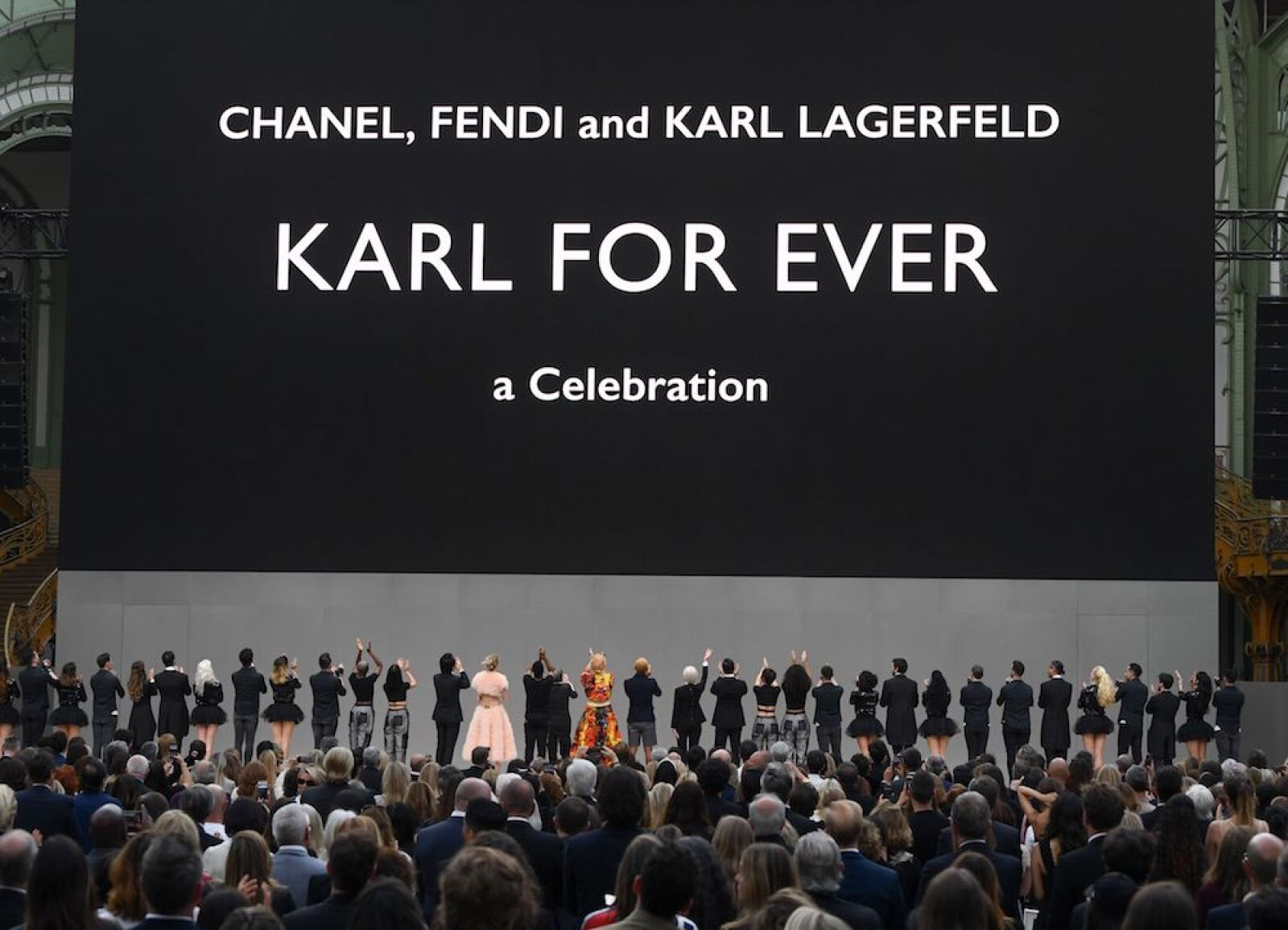 Karl For Ever memorial, Runway, Paris Fashion Week Men's, France - 20 Jun 2019