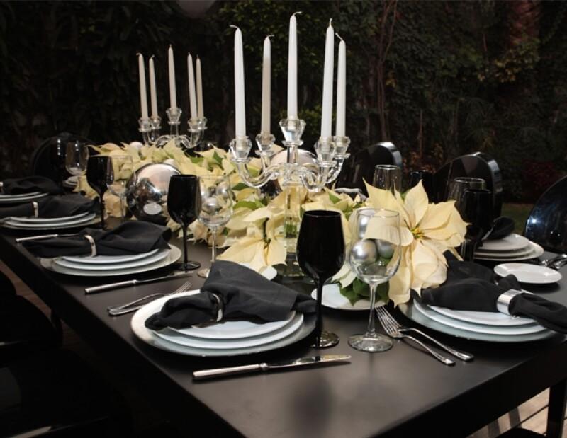 Los colores que los expertos proponen para la decoración son el negro y el plateado.