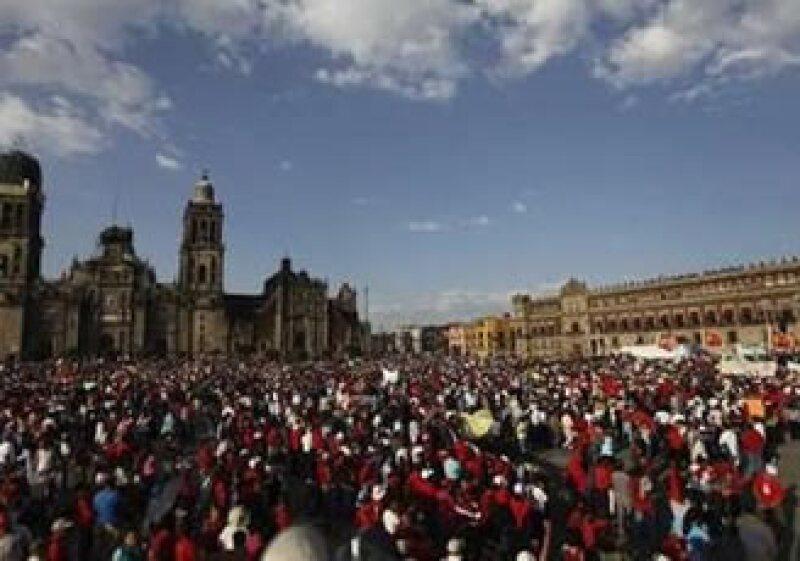 Ex trabajadores de Luz y Fuerza del Centro han llevado a cabo diversas manifestaciones. (Foto: Reuters)