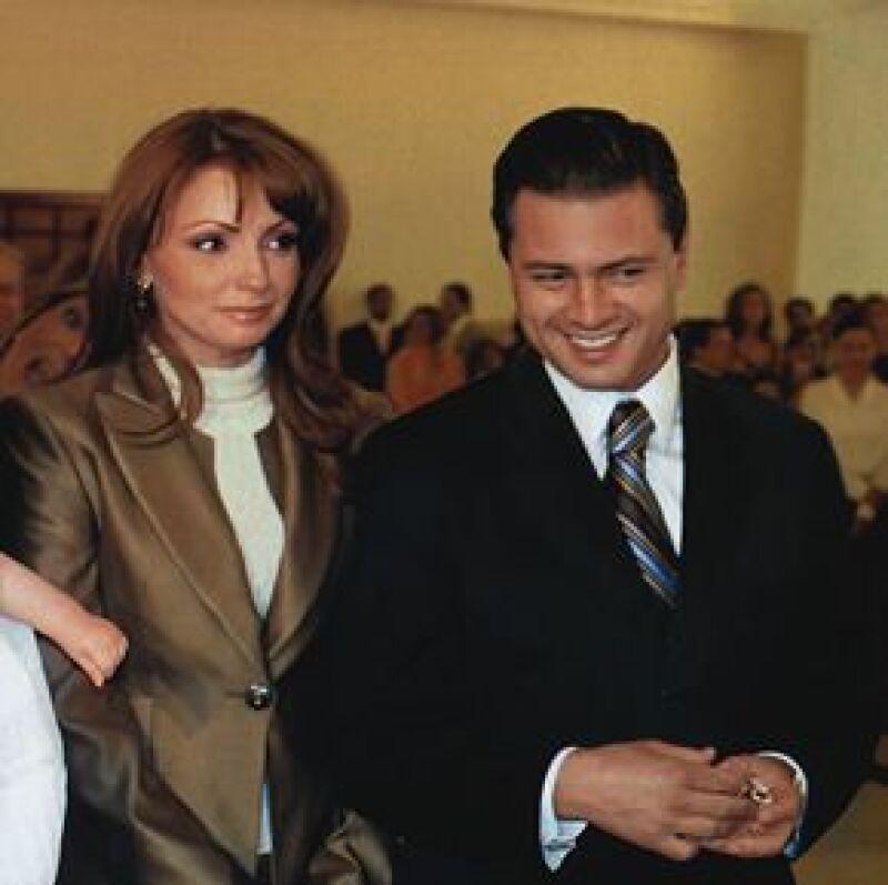 Angélica Rivera no aceptó participar en la telenovela 'Mañana es para siempre' puesto que no quiere descuidar su noviazgo con Enrique Peña Nieto.