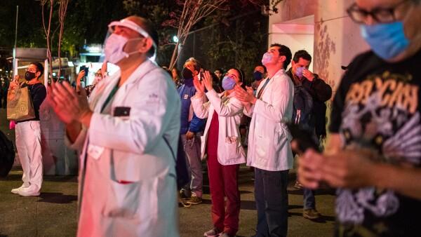 Médicos del Hospital 20 de Noviembre