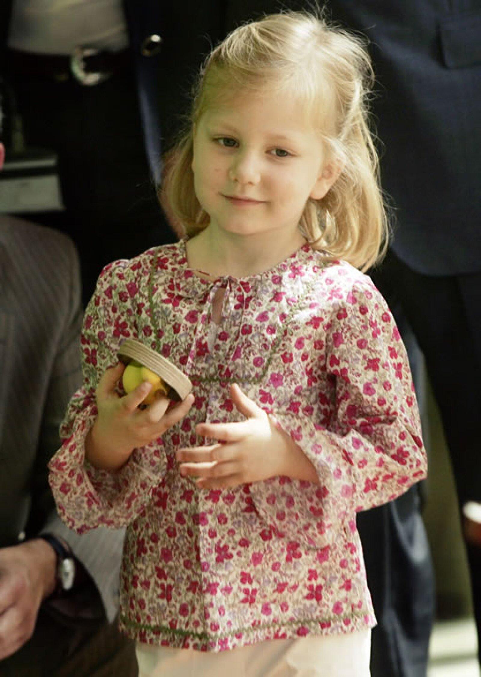 Además de princesa lleva el título de Duquesa de Brabante.