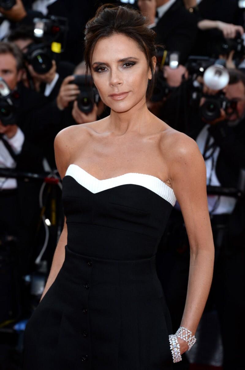 La diseñadora de modas asistió a Cannes después de 21 años.