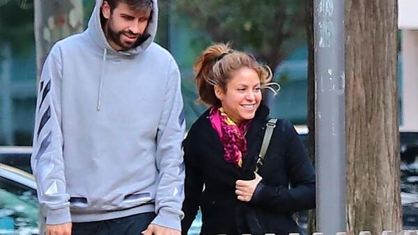 PREMIUM EXC Shakira and Gerard Pique