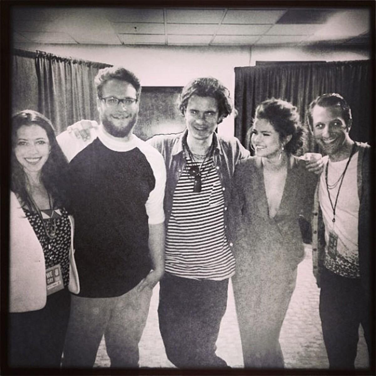 Como en los viejos tiempos, Selena, Ashley y Vanessa, juntas