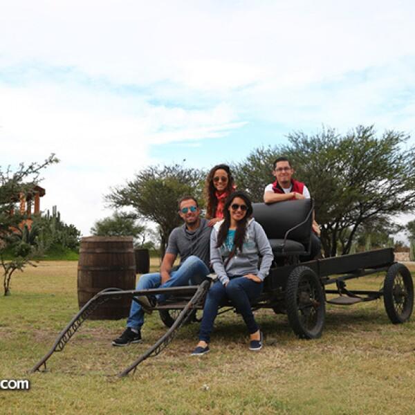 Fernando Concheso,Tania Martínez,Ruth Amai y Adrián de la Rosa