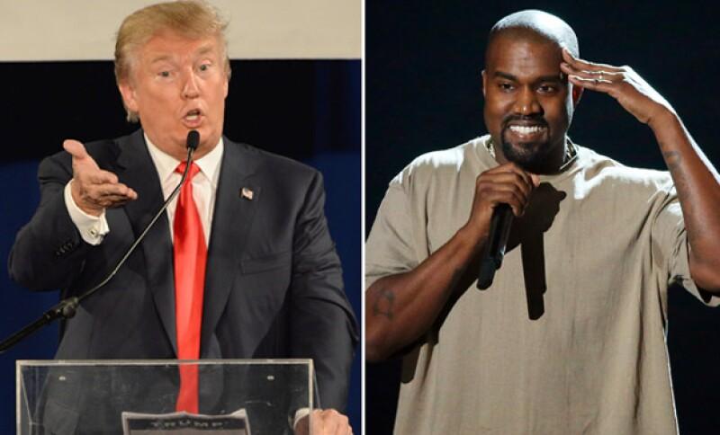 En una entrevista publicada este miércoles, Donald Trump expresó que en realidad Kanye es un buen hombre y le gustaría competir con él para la presidencia algún día.