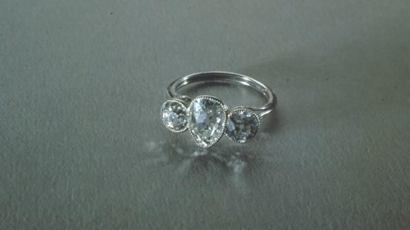 anillo recuperado del titanic
