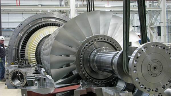Turbogenerador Siemens