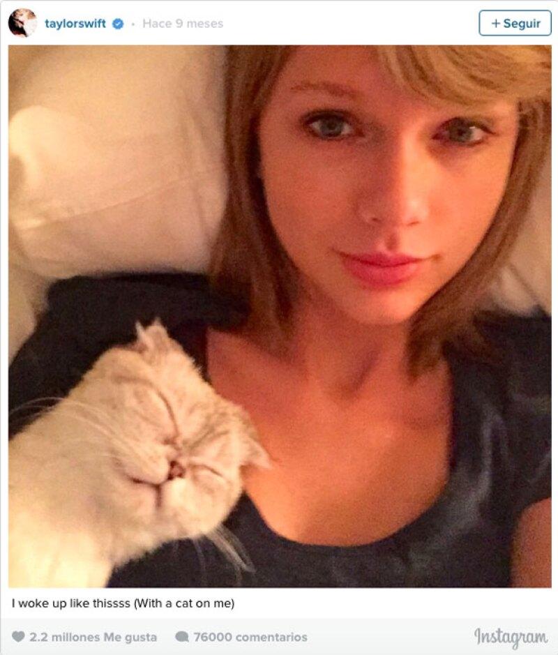 Meredith, de nuevo la protagonista de las redes sociales de Taylor.