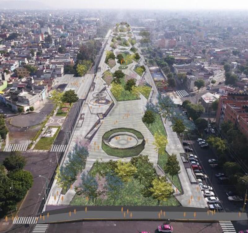Gran Canal proyecto parque