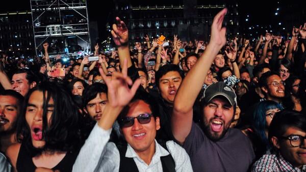 concierto Zócalo