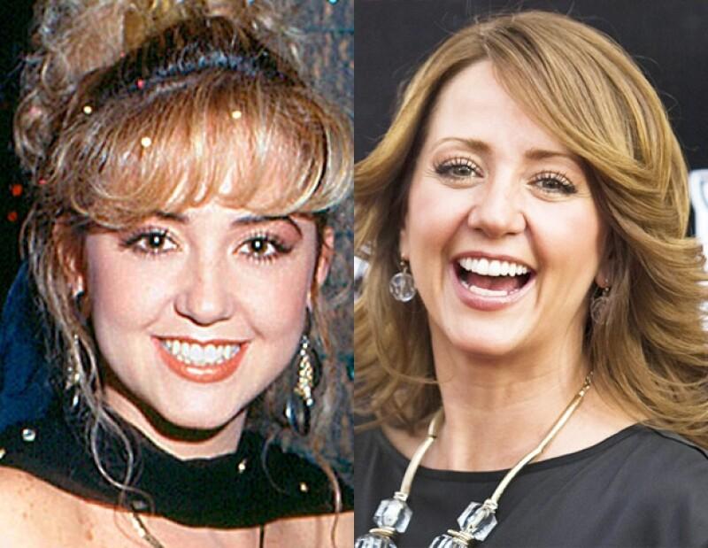 Andrea Legarreta luce más bella de cuando comenzó su carrera en las telenovelas.